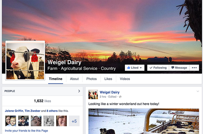 weigel-dairy-facebook-page