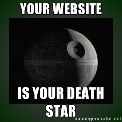 death star website