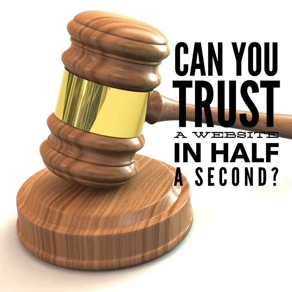 judge your website in 50 milliseconds